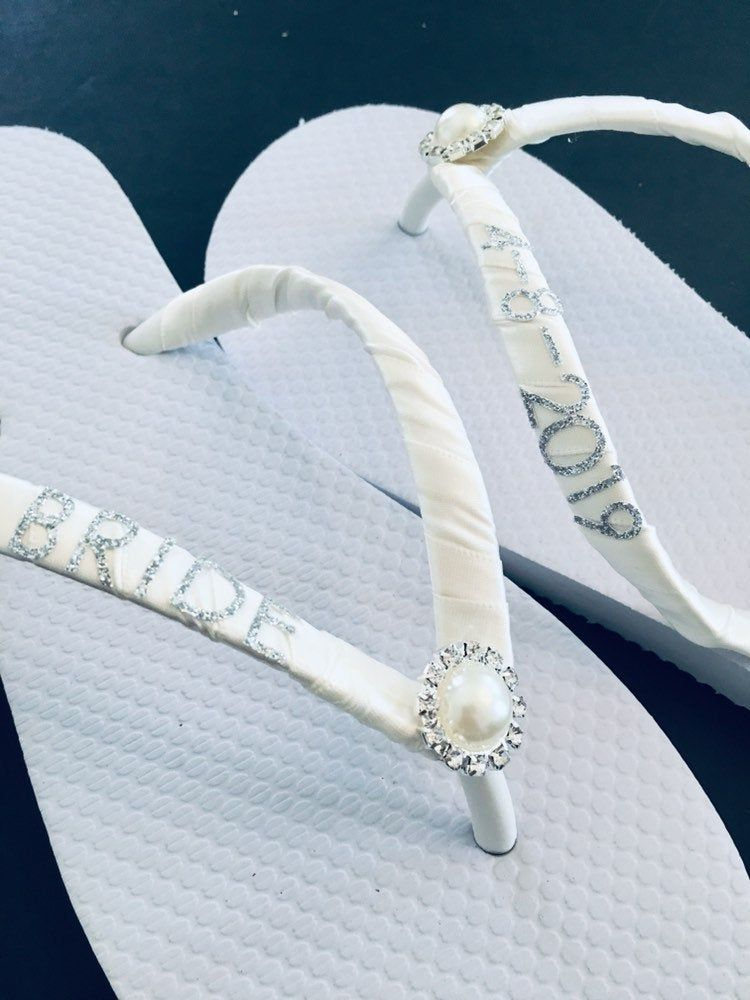 Pin On Wedding Flip Flops