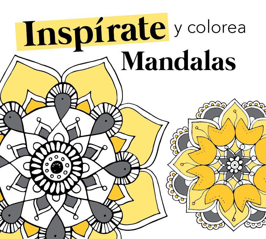 Mandalas Descargables Para Colorear Www Soysilviamarquez Com Mandalas Mini Libros Colores