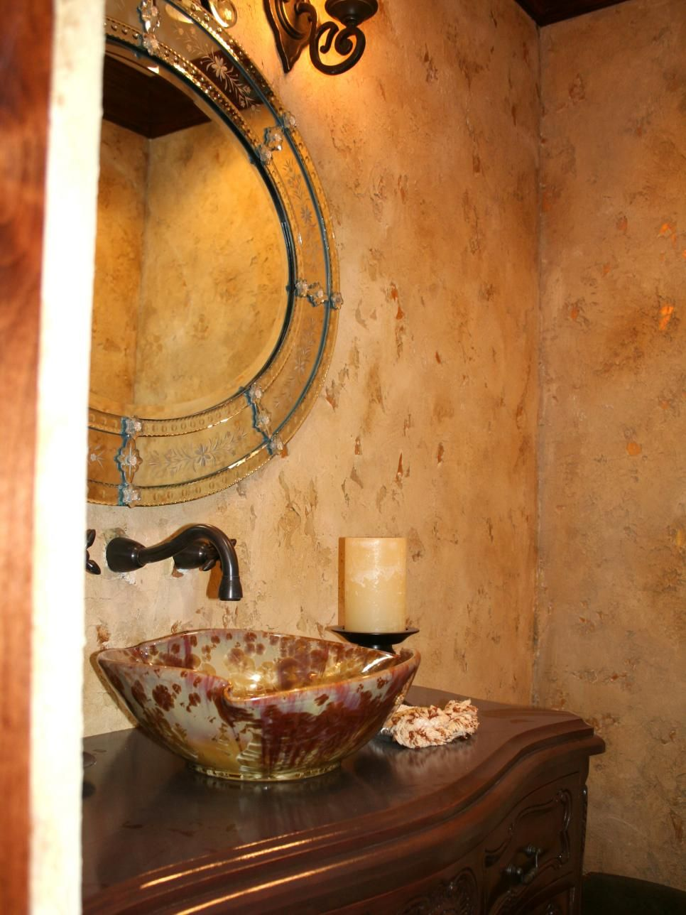 Wall Paper Tuscan Bathroom Design on farmhouse bathroom walls, composite bathroom walls, rustic bathroom walls, victorian bathroom walls, faux finish bathroom walls,