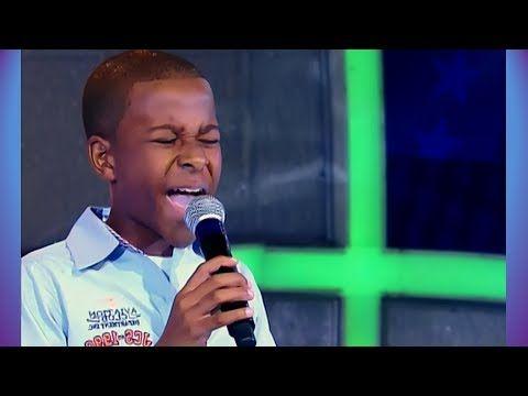 ADENILSON CALAZANS - Agnus Dei • Jovens Talentos Kids - Raul Gil (15/03/14)