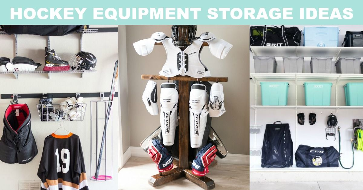 Awesome Hockey Equipment Storage Ideas Sports Equipment Storage Equipment Storage Hockey Equipment Storage