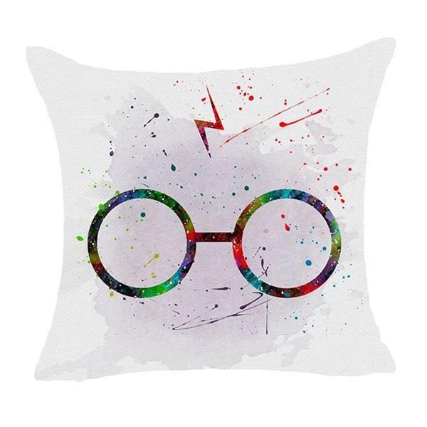 *Harry Potter* Cartoon Polyester Cushion Cover Sofa Throw Pillow Case Home Decor