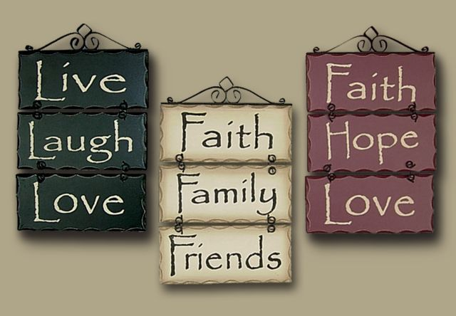 Primitive Rustic Home Decor Live Laugh Love Faith Family Signs Rustic Plaque Home Decor Ebay Primitive Decorating Country Family Signs Primitive Homes