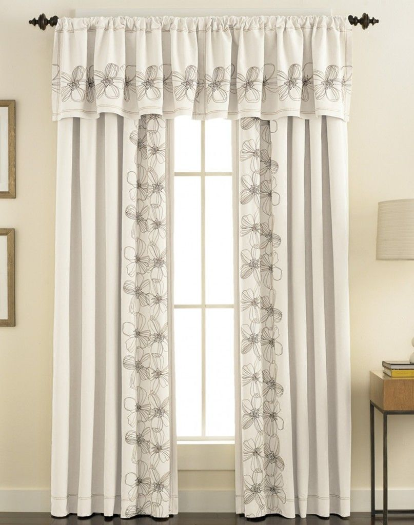 White Curtain Kitchen Curtains Light Yellow Curtain Decoration Dkny ...