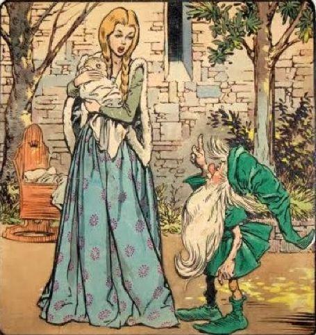 rumpelstiltskin.jpg 455×482 píxeles | Rumpelstiltskin, Fairy tales, Grimm  fairy tales