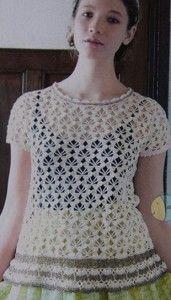 Lily Sugar 'n Cream Summer Top Free Crochet Pattern
