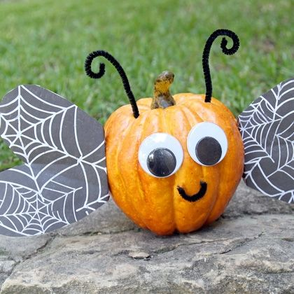 Carve Free Pumpkin Decorating Ideas For Toddlers Diy Pumpkins Crafts Pumpkin Decorating Pumpkin Halloween Decorations