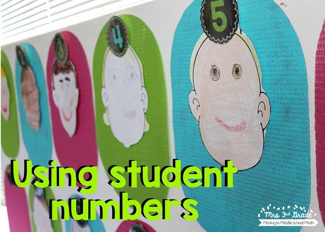 Using student numbers in your classroom is a perfect way to prepare for your new school year before you have your student list.