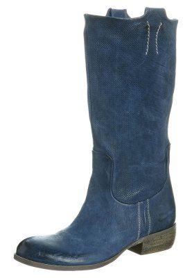 blauwe laarzen