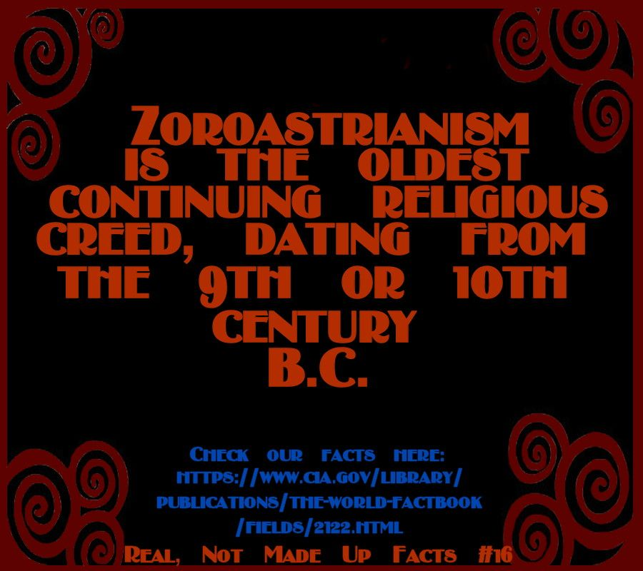 Zoroastrianism Is The Oldest Continuing Creedal Religion Dating - Three biggest religions