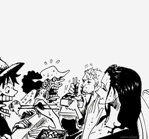 Luffy Zoro Usopp Robin
