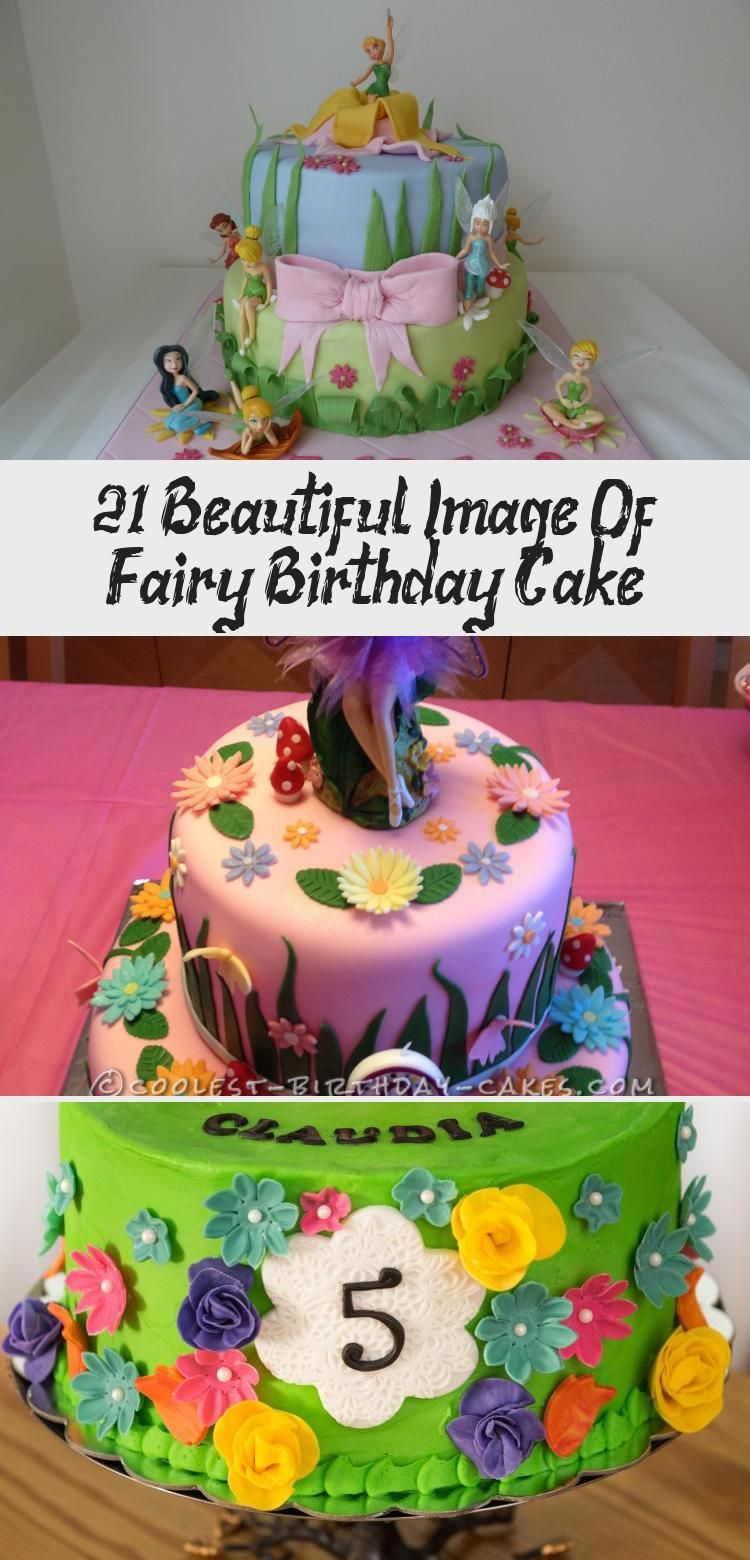 21+ Beautiful Image Of Fairy Birthday Cake - Yummy Cakes