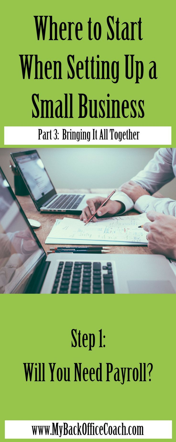 Where to Start When Setting Up Your Business PART 3 of 3