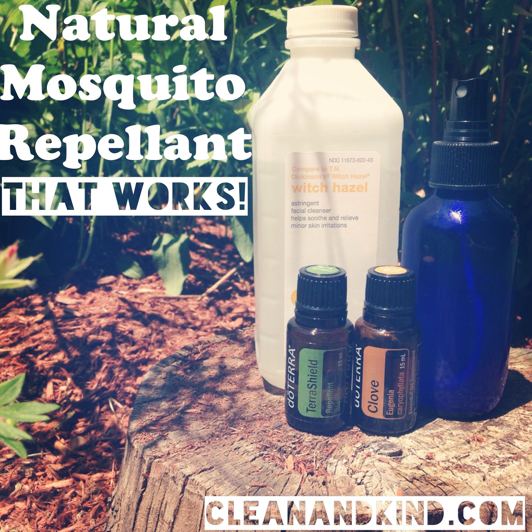 Natural Mosquito Repellant That Works Diy Witch Hazel