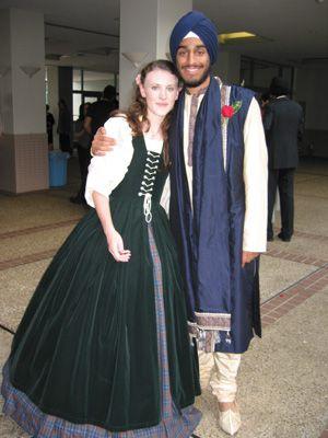 Renaissance Faire Irish dress, Celtic overdress, wedding gown ...