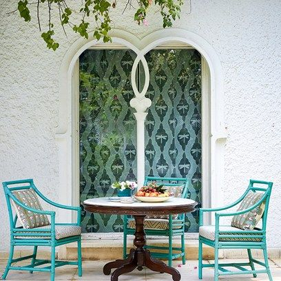 Discover the Delhi house owned and designed by the founder of Good Earth Anita Lal, who has filled it with bold patterns and bright colours on HOUSE - design, food and travel by House & Garden.