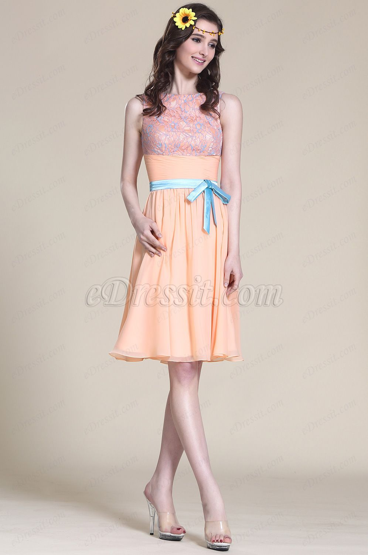 EUR 76,49] Süß Ärmellos Rosa Party Kleid Cocktail Kleid (07152701 ...