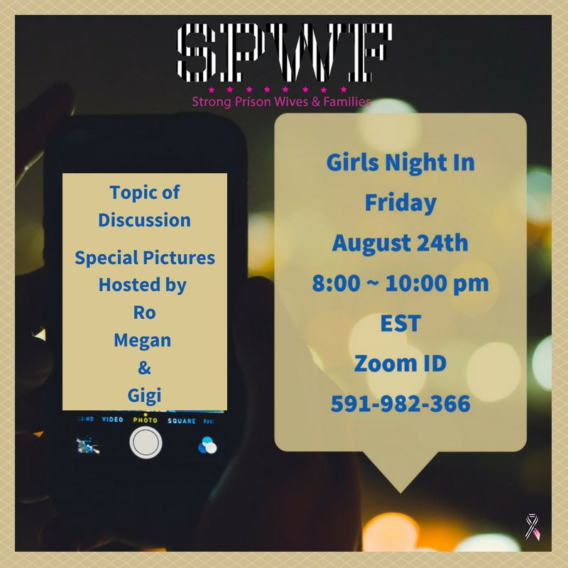 Girls Night In is back! Special Pictures Hosts are Ro