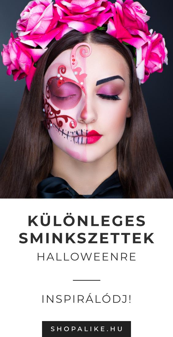 Halloween Sminkek.Sminkek Paletta Keszlet In 2019 Halloween Otletek