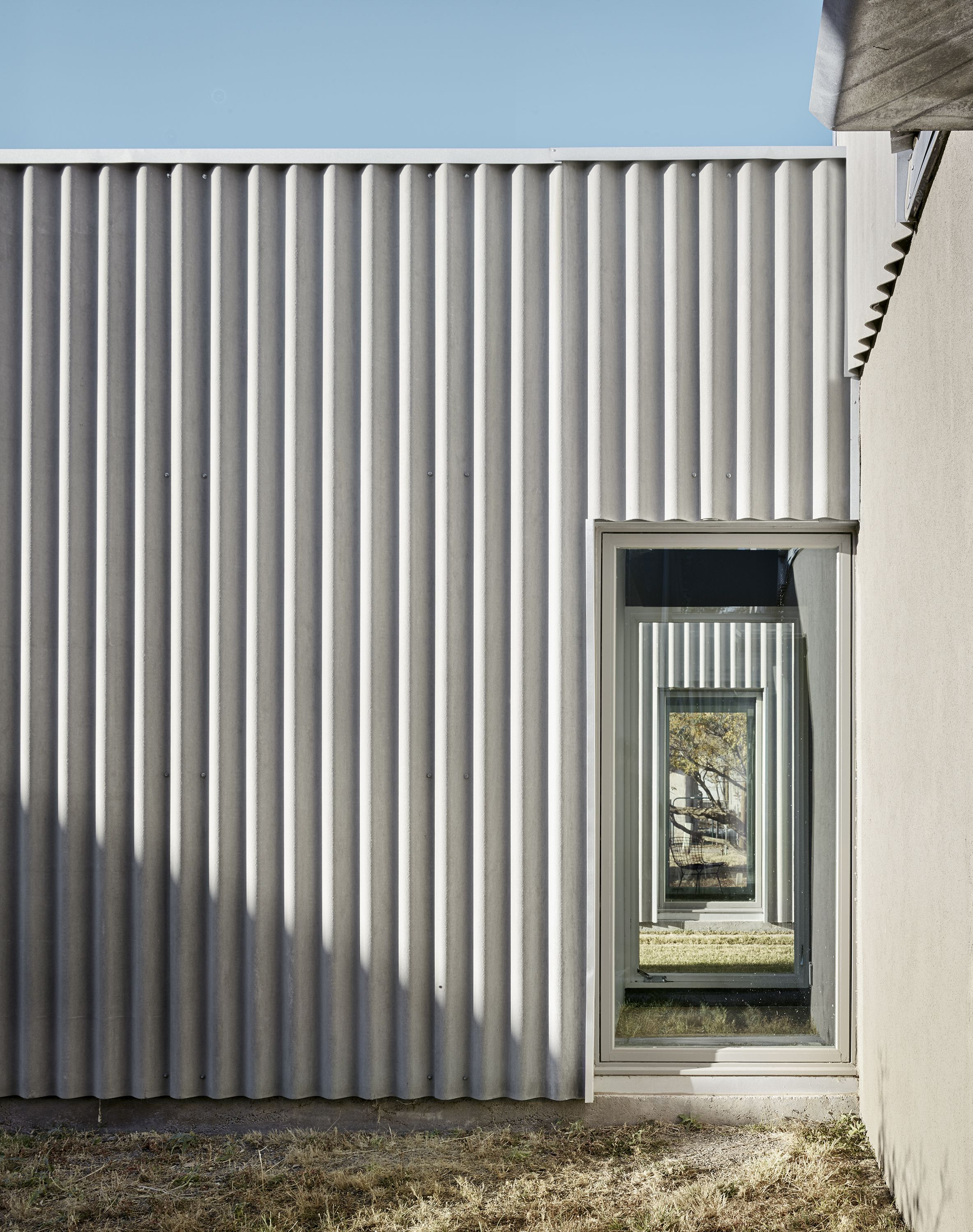 Corrugated Fiber Cement From Marley Eternit Architecture Adobe House House Cladding