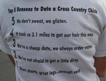 Top 5 reasons to date a Cross Country girl. - We Know How To Do It