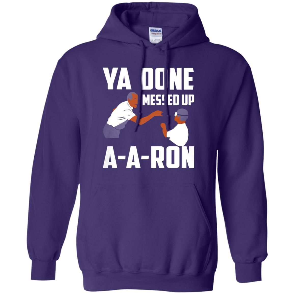 Buying Cheap F93b1 9dd42 You Done Messed Up Aaron Shirt Pinterest