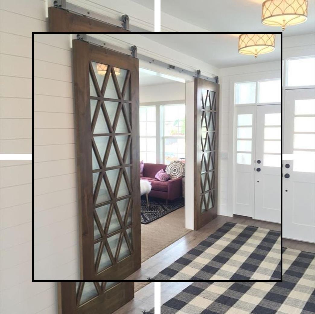 Interior Barn Doors Modern Sliding Closet Doors For