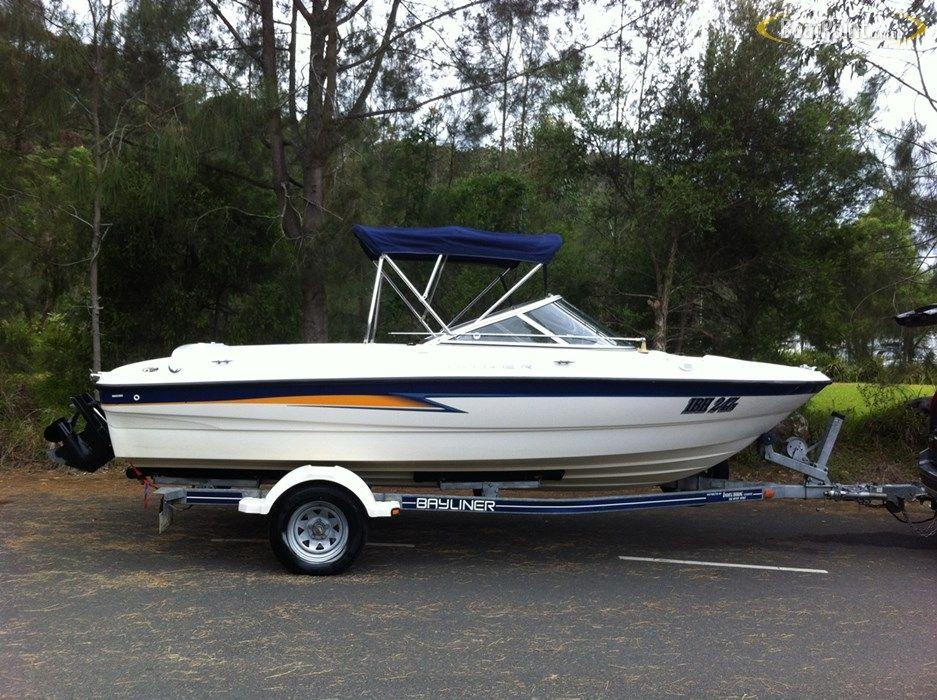 2003 BAYLINER 185 BOWRIDER Bowrider, Boat, Boats for sale