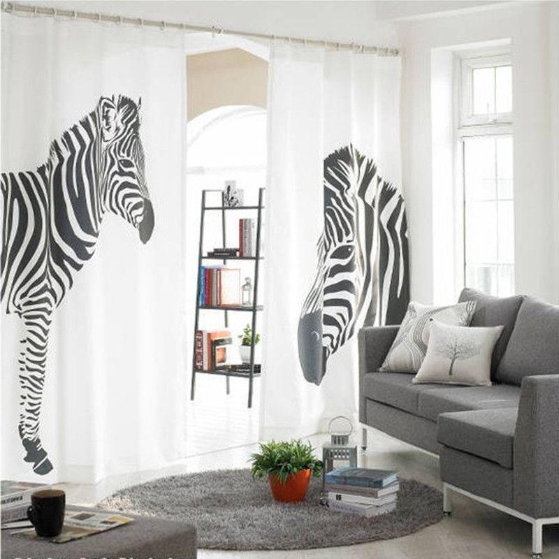 Cheap Zebra Curtains - Nanatran.com