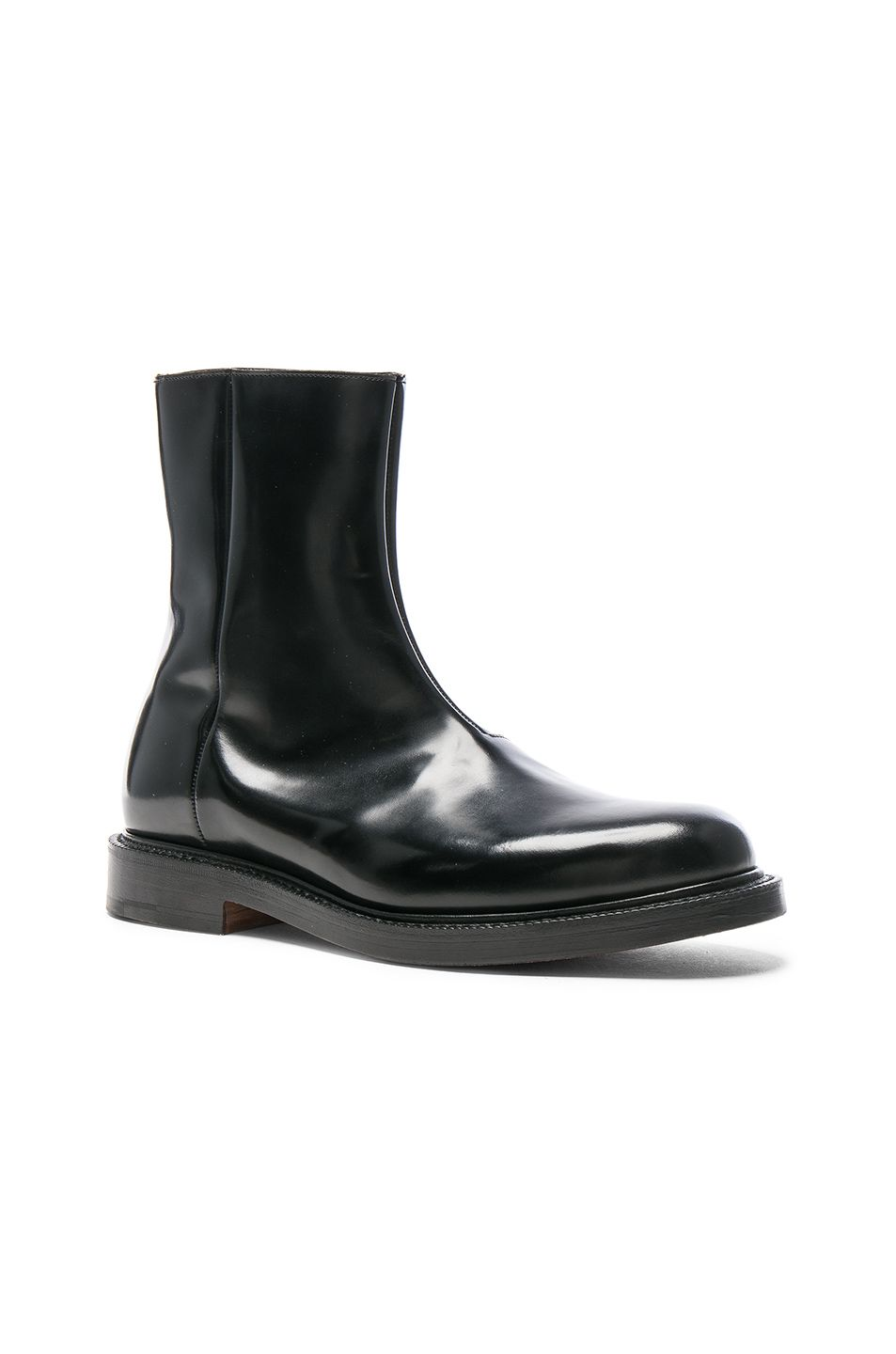 Clearance Eastbay + Churchs Logo-embossed Leather Boots VETEMENTS New Styles Cheap Price Outlet Best Seller Great Deals Online Quality From China Cheap TeEYjcpaL0