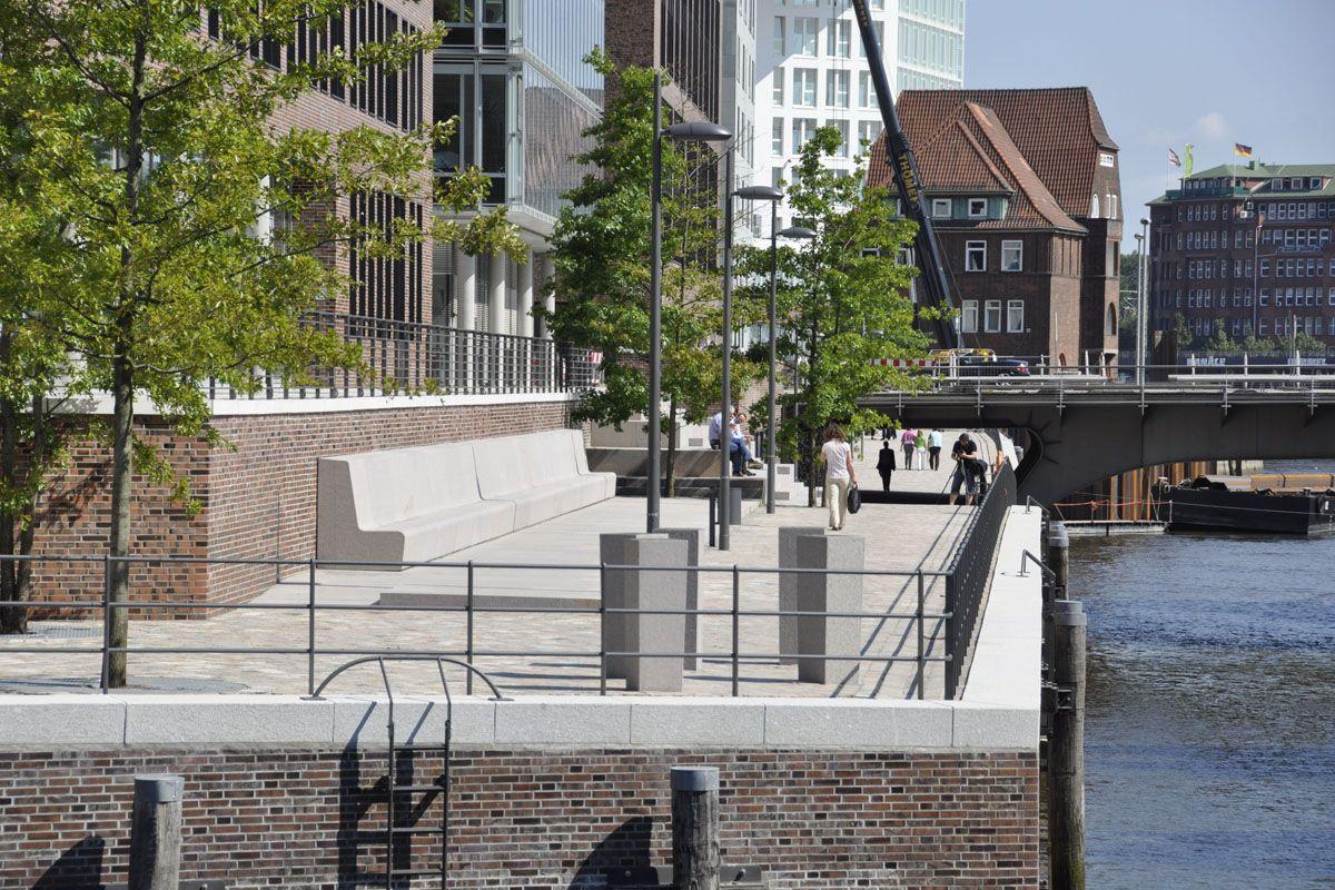 Germany Hamburg Hafencity Public Space Architecture Planning Hafen City Hamburg Hafen