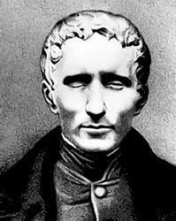 Louis Braille (1809-1852).