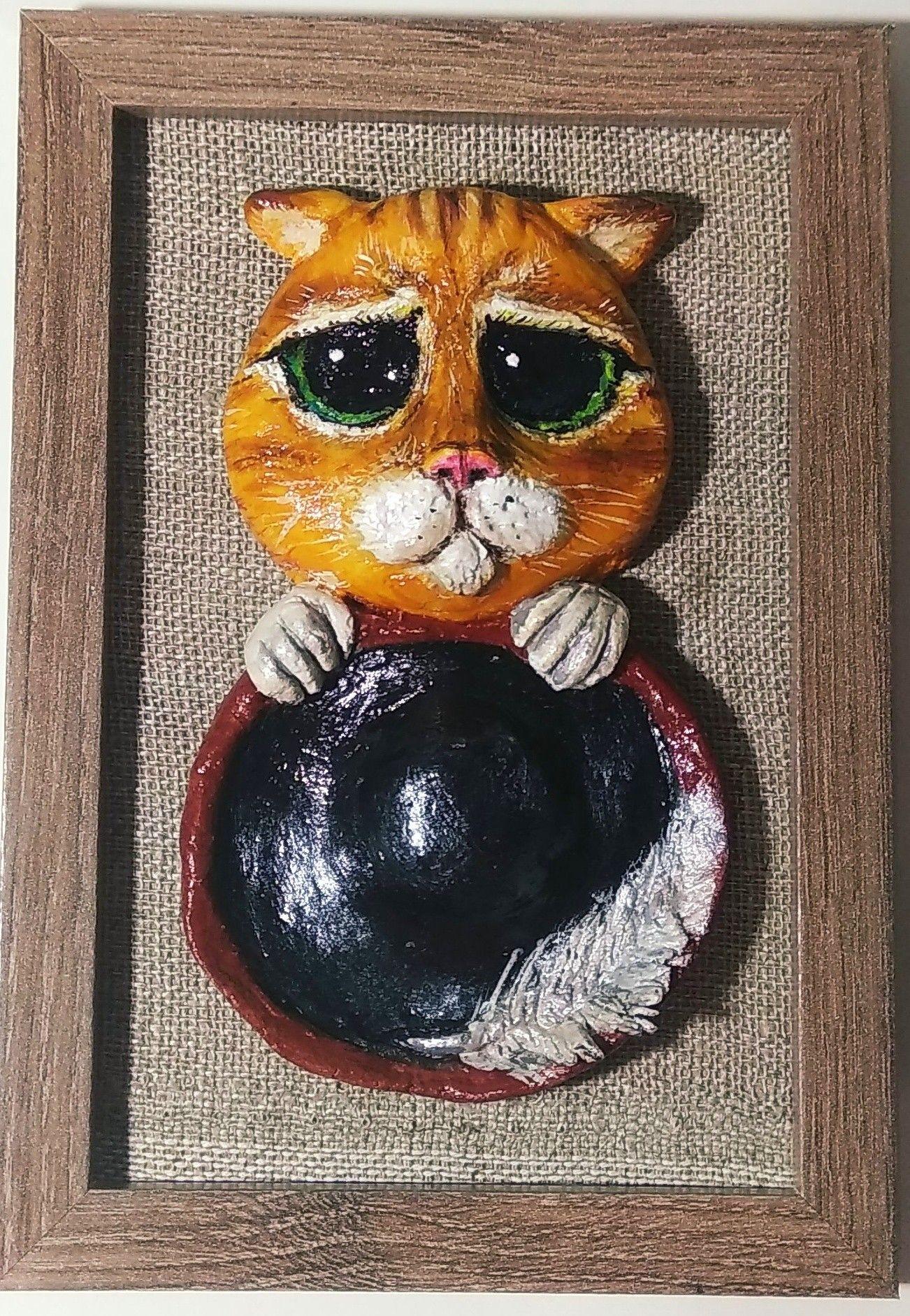 картинку дед соленое тесто коты картинки выкладываем для