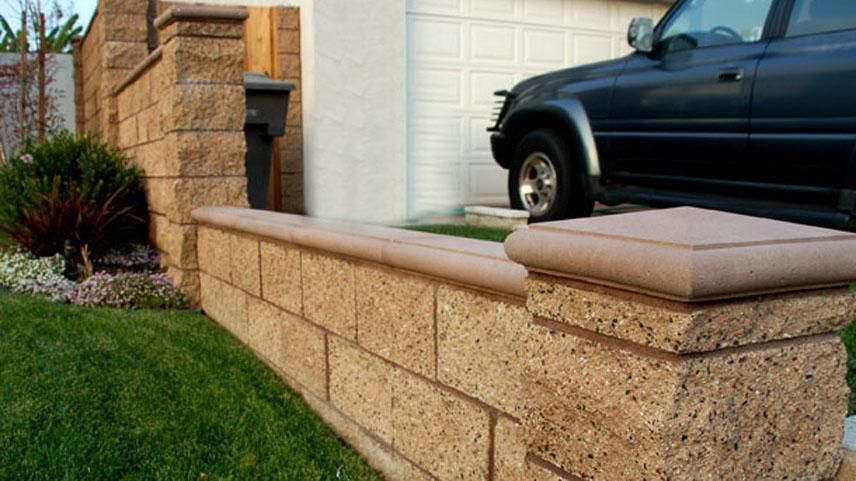 Masonry Angels Landscape Garden Blocks Concrete Blocks Backyard Fences