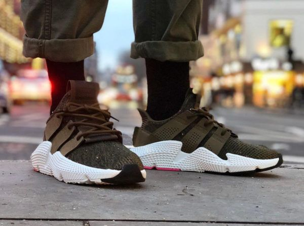 detailing 4a03f b9bac Adidas Prophere Knit  Trace Olive