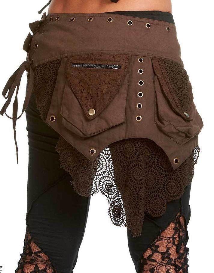 Hip Pack fée Elf Ceinture Pixie Fanny Pack Sac ceinture Gekko utilitaire poche ceinture