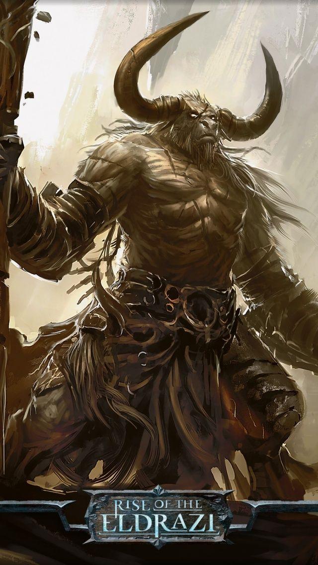 Magic The Gathering Iphone Wallpaper Wallpapersafari Fantasy Monster Fantasy Creatures Fantasy Races