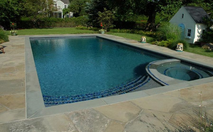 60 amazing pool decks glittering coping tiles for above for In ground pool coping ideas