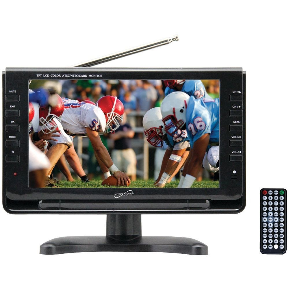 Supersonic SC-499 9 TFT Portable Digital LCD TV | Products | Pinterest