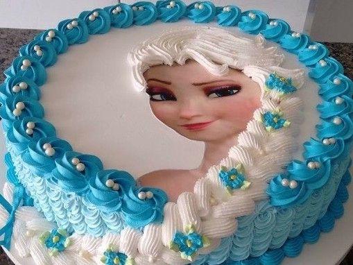 Torten dekorieren elsa