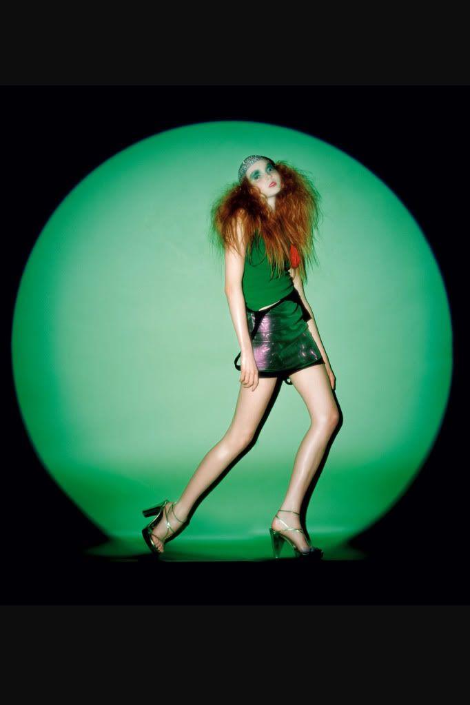 Lily Cole April 2004 British Vogue