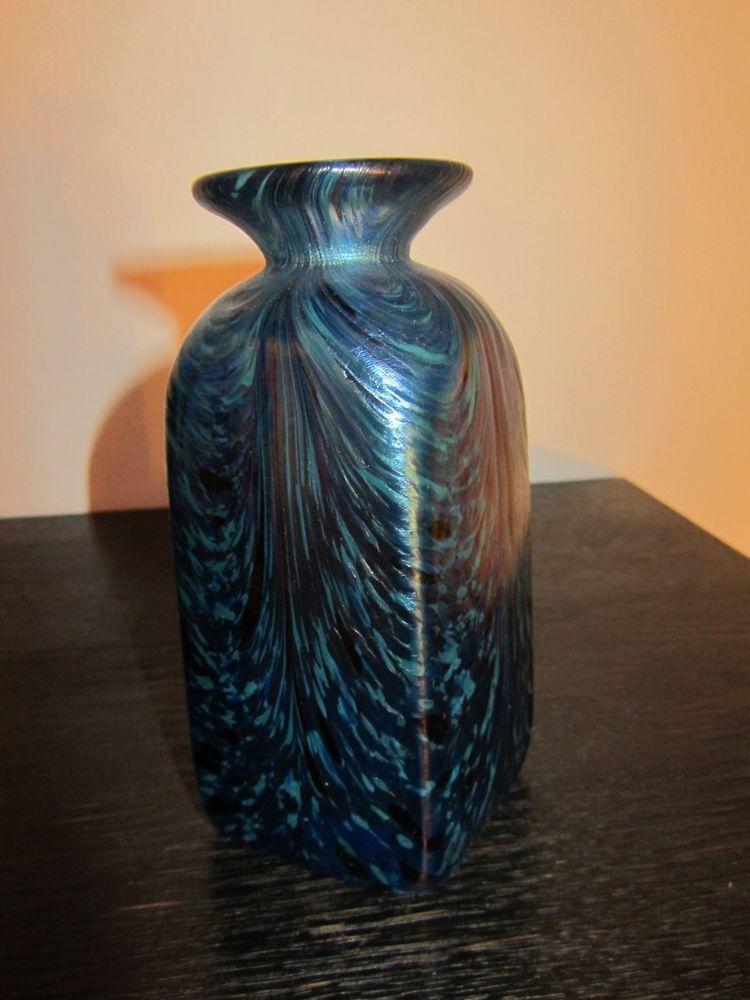 Irisierende Vase, Böhmen ? | Vase, Contemporary, Decor