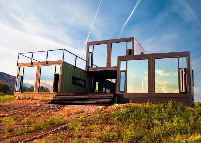 Canon City Container Cabin Modern Tomecek Studio Architectur