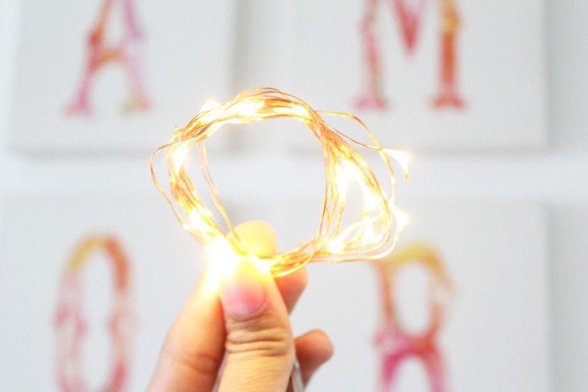 Fairy Lights com fio de cobre