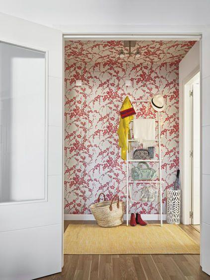 llena de luz y color papel pintadodecoracion - Papel Pintado Recibidor