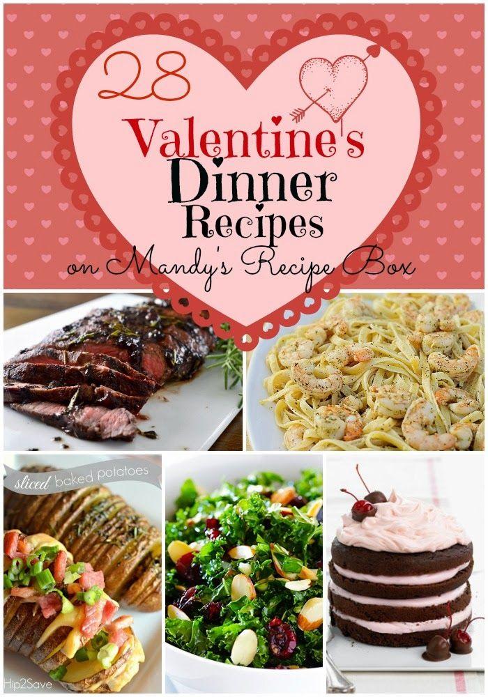 28 Valentine\'s Dinner Recipes Home-Food-Love-Entertaining-Ideas ...