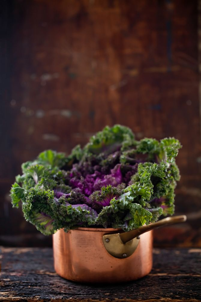 Purple and Green Kale