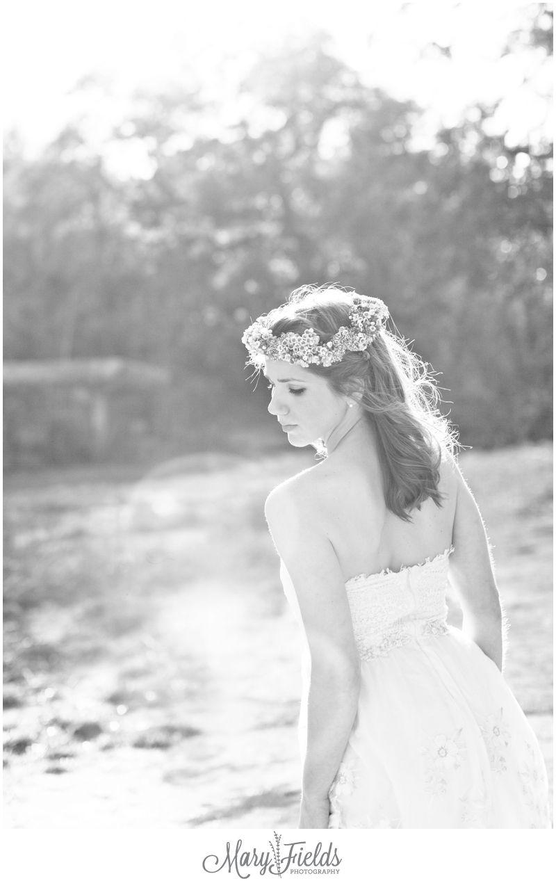 Megan joe flower headdress dallas wedding photographers and