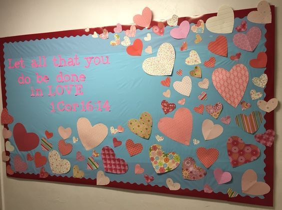 20 Valentine's Day Classroom Bulletin Board Ideas Which Will Get Kids all Excited - Ethinify #valentinesdaybulletinboardideas