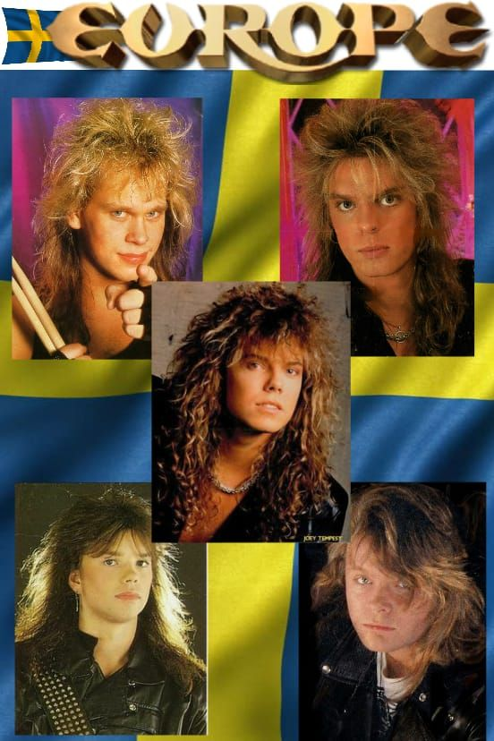 Pin By Ana Maria On Europe Europe Band Joey Tempest Europe
